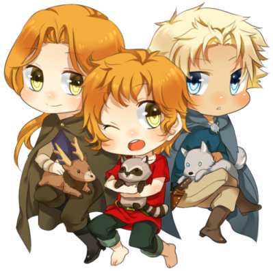 Brothers Chibis by f-wd