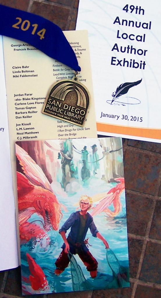 Local Author Exhibit, CJMilbrandt