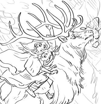 Inside the Tree, sketch peek