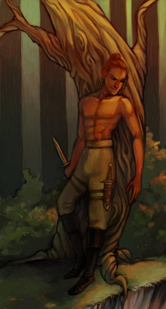 Aurelius Hunting by amytaluuri