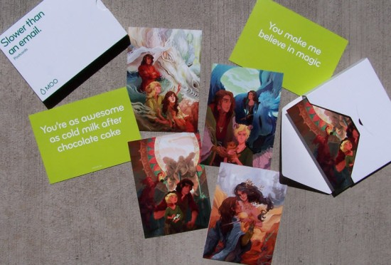 Prize Postcards, Galleries of Stone