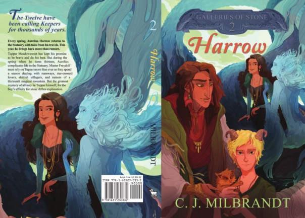 Harrow Book Cover
