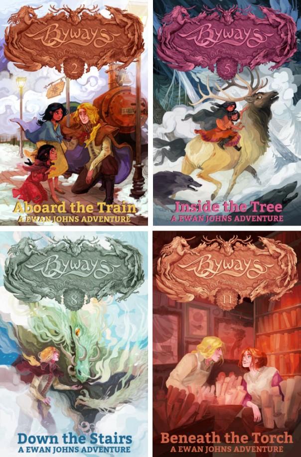 All of Ewan's Books, 4