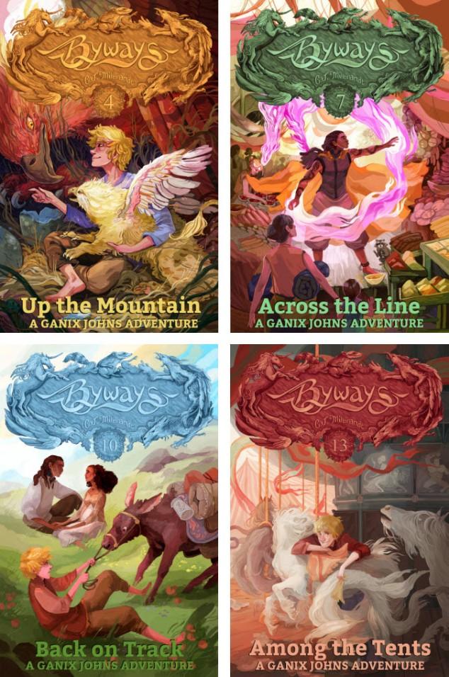 All of Ganix's Books, 4