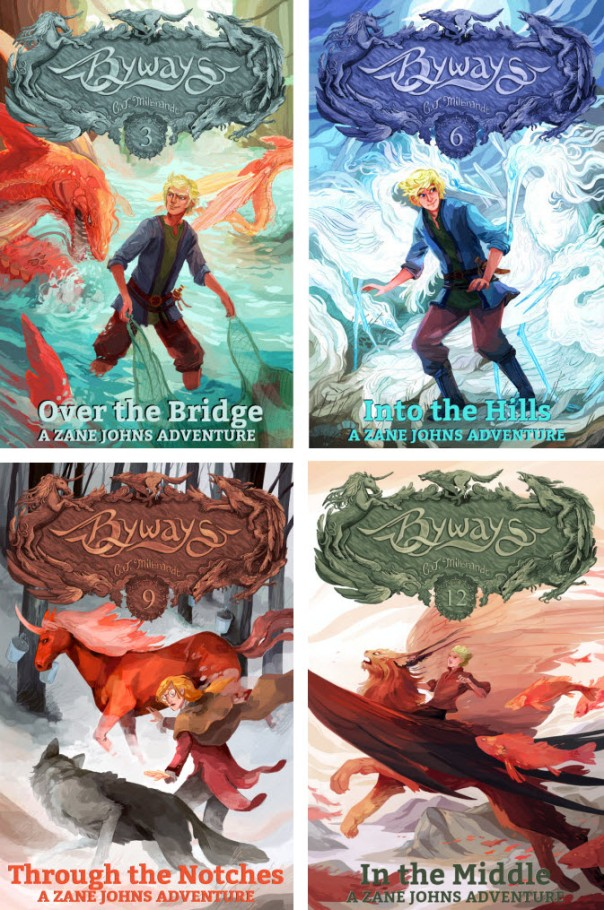 All of Zane's Books, 4