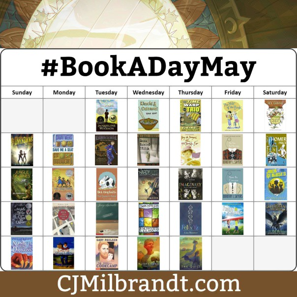 BookADayMay 2018