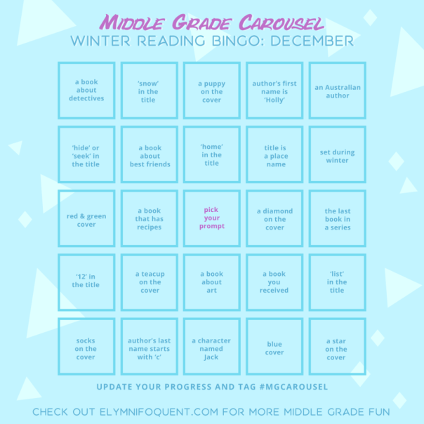 CJs December Bingo Board